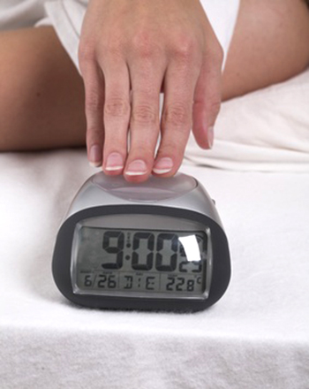 Aucun électrosmog: Un réveil à piles n'a aucune influence sur votre santé ou votre sommeil, à moins de vous  réveiller…