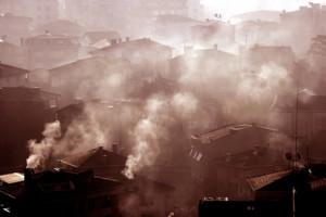 L'air pollué est visible, et souvent on peut même le sentir