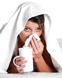 Des refroidissements fréquents ou chroniques peuvent être dus à l'électrosmog