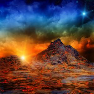 Volcans  et glissements de terrain gigantesques de l'âge de glace sont considérés comme responsables de failles rocheuses. Les failles émettent des rayonnements terrestres susceptibles de causer des maladies.