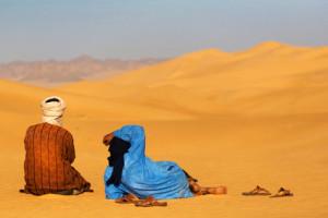 A peine croyable: c'est précisément au Sahara qu'il existe de gigantesques volumes d'eau souterraine fossile