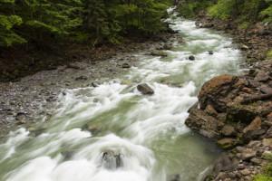 Sur ou sous la terre, l'eau qui coule absorbe des oligo-éléments de tous les matières avec lesquelles elle entre en contact.